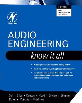 Audio Engineering: Know It All by Ian Robertson Sinclair