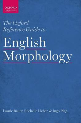 Oxford Reference Guide to English Morphology book
