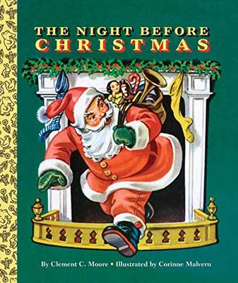 The Night Before Christmas Board Book by Clement C. Moore