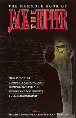 Mammoth Book of Jack the Ripper by Maxim Jakubowski