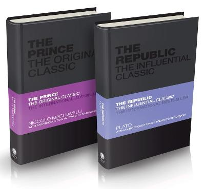 Influential Classics Collection: The Republic and The Prince by Plato