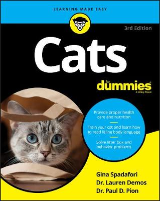 Cats For Dummies by Gina Spadafori