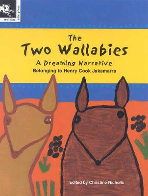 Two Wallabies by Christine Nicholls