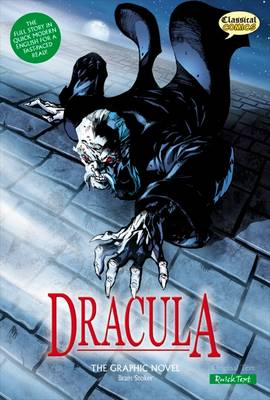 Dracula the Graphic Novel Quick Text book