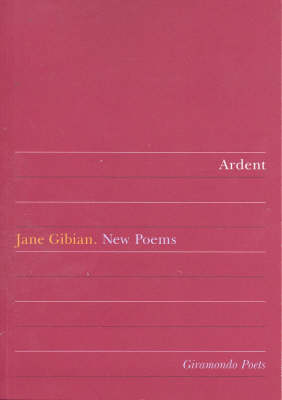 Ardent by Jane Gibian