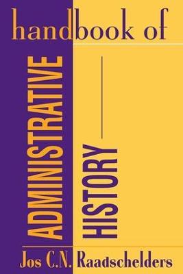 Handbook of Administrative History book