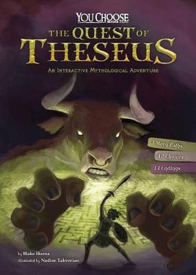 Quest of Theseus:  An Interactive Mythological Adventure by Blake Hoena