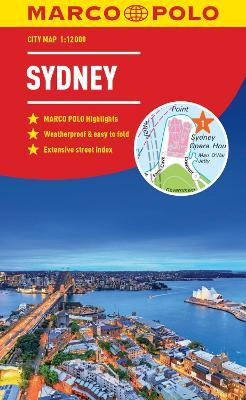 Sydney Marco Polo City Map 2018 - pocket size, easy fold, Sydney street map book