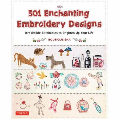501 Enchanting Embroidery Designs by Boutique-Sha