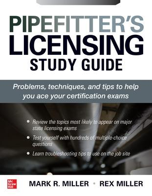 Pipefitter's Licensing Study Guide by Rex Miller
