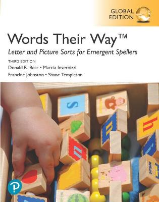 Words Their Way Letter and Picture Sorts for Emergent Spellers, Global Edition by Donald Bear