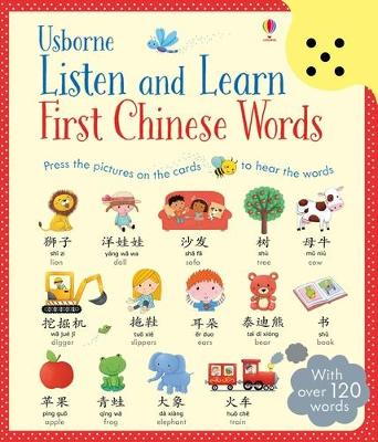 Listen and Learn First Chinese Words book
