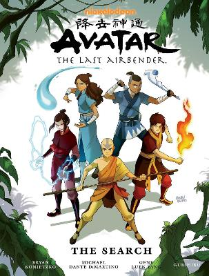 Avatar: The Last Airbender Avatar: The Last Airbender - The Search Library Edition Search by Michael Dante DiMartino