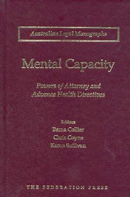 Mental Capacity by Berna Collier