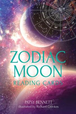 Zodiac Moon Reading Cards: Celestial guidance at your fingertips book