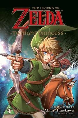 Legend of Zelda: Twilight Princess, Vol. 4 by Akira Himekawa
