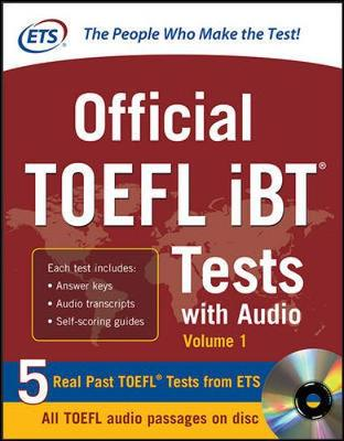 Official TOEFL iBT Tests with Audio by Educational Testing Service