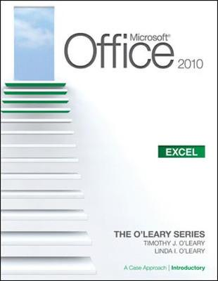 Microsoft (R) Office Excel 2010: A Case Approach, Introductory book