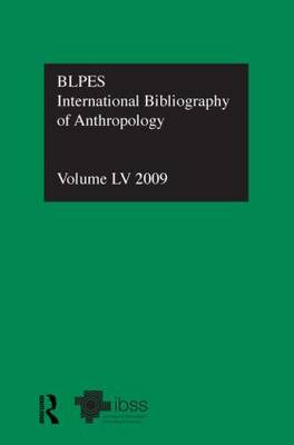 IBSS: Anthropology Volume 55 by Compiled by the British Library of Political and Economic Science