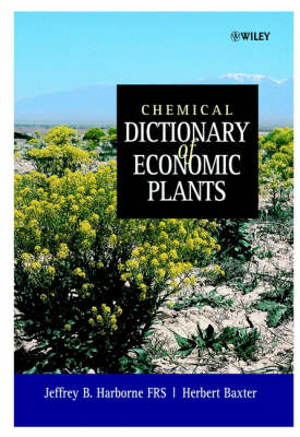 Chemical Dictionary of Economic Plants book
