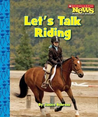 Let's Talk Riding book