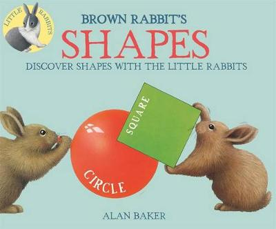 Brown Rabbit's Shapes by Alan Baker