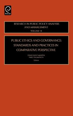 Public Ethics and Governance by Lawrence R. Jones