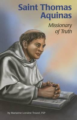 Saint Thomas Aquinas by Marianne Lorraine Fsp Trouve