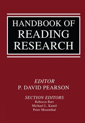 Handbook of Reading Research by Michael L. Kamil