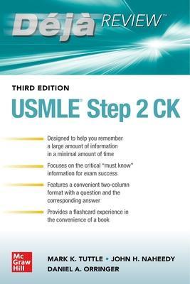 Deja Review: USMLE Step 2 CK, Third Edition book