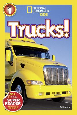 National Geographic Kids Readers: Trucks book