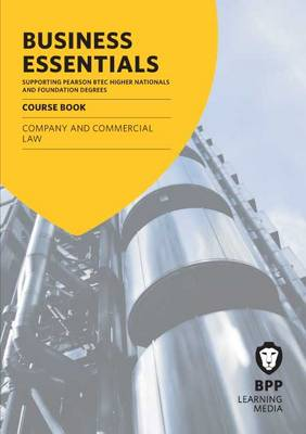 Business Essentials Company and Commercial Law by BPP Learning Media