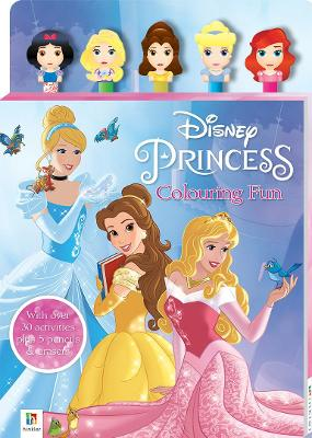 Disney Princess 5-Pencil and Eraser Set by