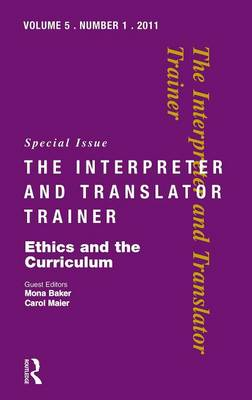 Ethics and the Curriculum by Mona Baker