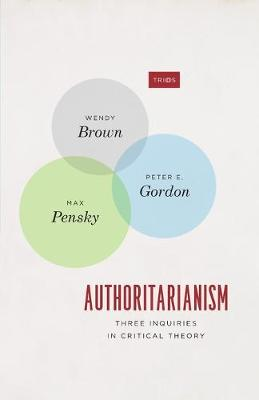 Authoritarianism: Three Inquiries in Critical Theory book