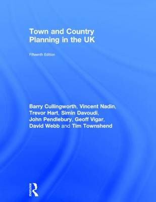Town and Country Planning in the UK by Vincent Nadin