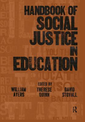 Handbook of Social Justice in Education book