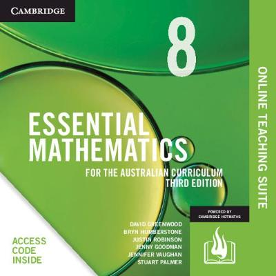 Essential Mathematics for the Australian Curriculum Year 8 Online Teaching Suite (Card) by David Greenwood
