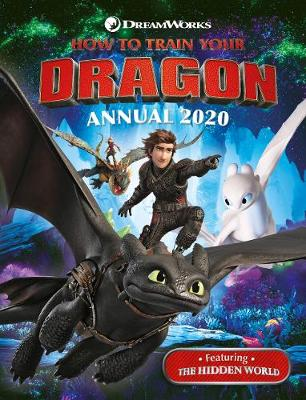 How to Train Your Dragon Annual 2020 book