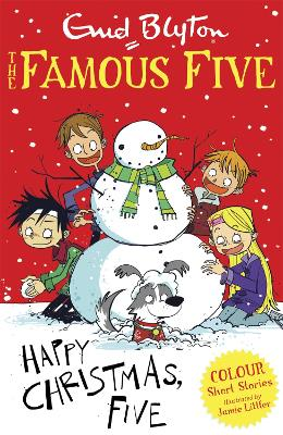 Happy Christmas, Five! by Enid Blyton