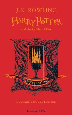 Harry Potter and the Goblet of Fire - Gryffindor Edition book