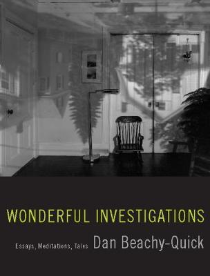 Wonderful Investigations by Dan Beachy-Quick