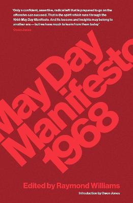 May Day Manifesto 1968 by Raymond Williams