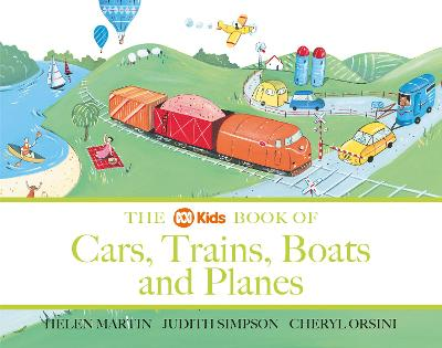 ABC Book of Cars, Trains, Boats and Planes by Helen Martin