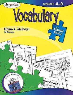 The Reading Puzzle: Vocabulary, Grades 4-8 by Elaine K. McEwan-Adkins