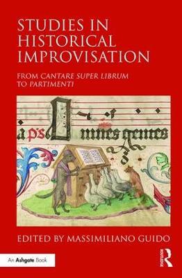 Studies in Historical Improvisation book