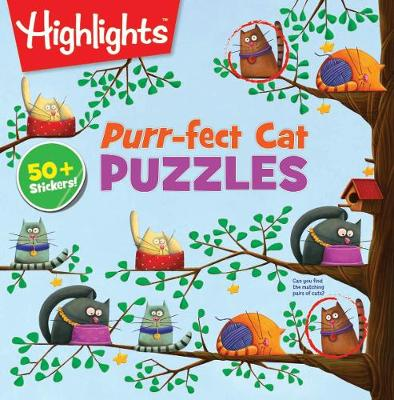 Purr-fect Cat Puzzles by Highlights
