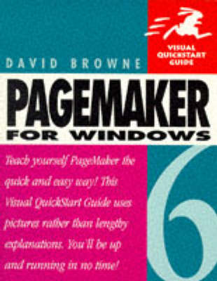 Pagemaker 6 for Windows by David Browne
