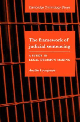 Framework of Judicial Sentencing book