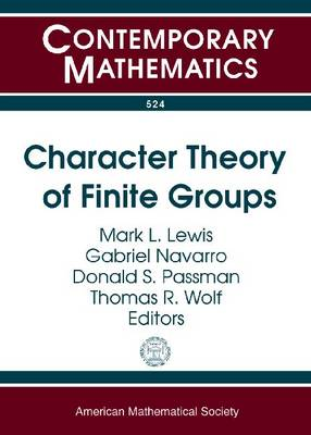 Character Theory of Finite Groups by Donald S Passman